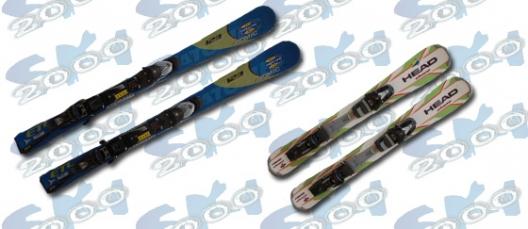 Skis courts et patinettes