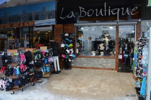 La boutique vêtements